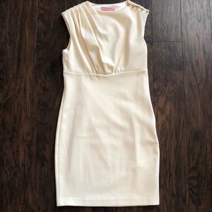 Ted Baker Bridie Sculpted Pleated Size 8 Dress